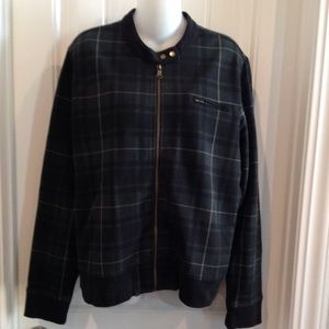 Lauren Ralph Lauren Green Plaid Bomber Jacket